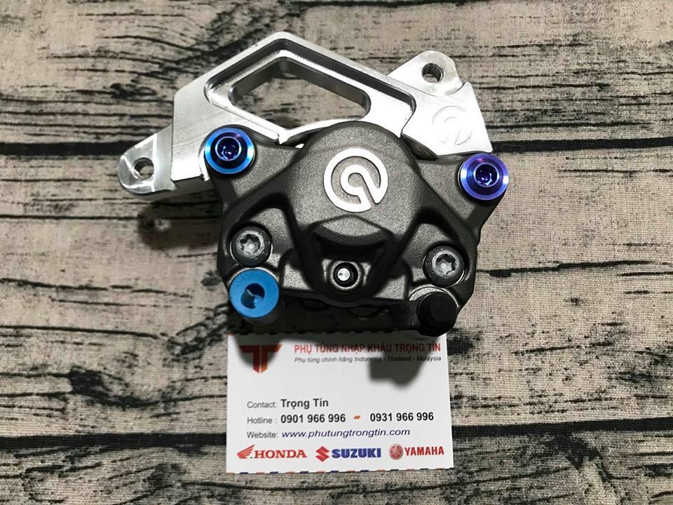 Pát CNC cho heo Brembo cho Suzuki Satria - Raider Fi - Fu đia dĩa zin