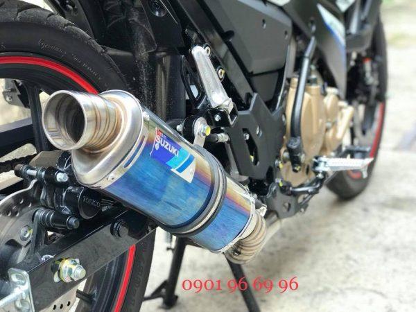 Fullset Pô chính hãng Suzuki Team dành cho đội đua Suzuki, hàng nhập khẩu chính hãng sử dụng được cho Suzuki Satria Fu, Raider xăng cơ, Fx125 gắn như zin không cần chế.