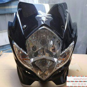 Full đầu Suzuki Satria Fu - Đầu lớn mắt phượng 2012 - đầu đèn lớn Raider Fu