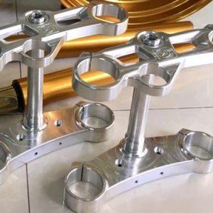 Full chảng ba, ghi đông CNC cho phuộc USD ( Up side Down) hàng CNC chất lượng cao