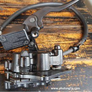 Bộ heo dầu Satria Fi, Raider Fi hàng BYBRE công ty con của BREMBO chuyên gia công heo dầu cho xe nhỏ, gắn cho raider xăng cơ như zin không chế. Suzuki 125 cần làm lại pát heo