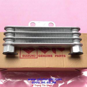 Két nhớt giải nhiệt Suzuki Satria F, thay thế được cho Raider Việt Nam, Fx125, và độ cho các dòng xe nhỏ khác