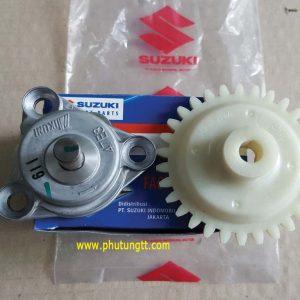 Bơm nhớt chính hãng cho Suzuki Fx125, Raider, Satria Fu dùng chung, hàng nhập khẩu Indonesia