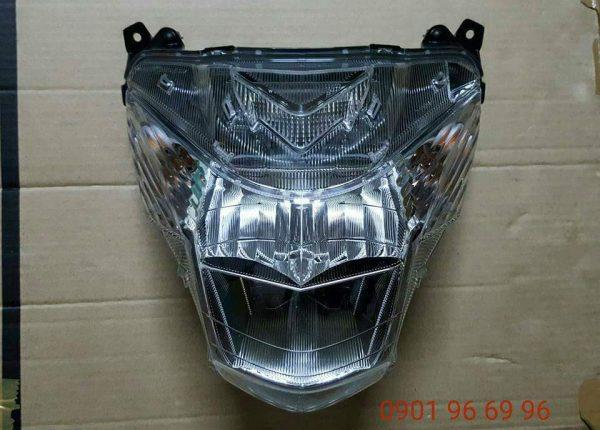 Full chóa đèn Satria F Fi hàng nhập khẩu Indonesia, tích hợp sẵn sinhan