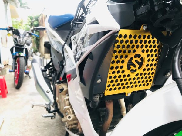 Bảo vệ két nước CNC cho Suzuki Satria Fi - Raider Fi