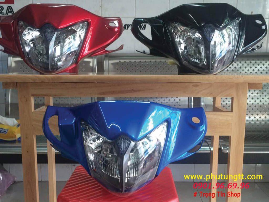 Đầu 2 đèn Suzuki Axelo Indonesia - gắn Axelo Việt Nam