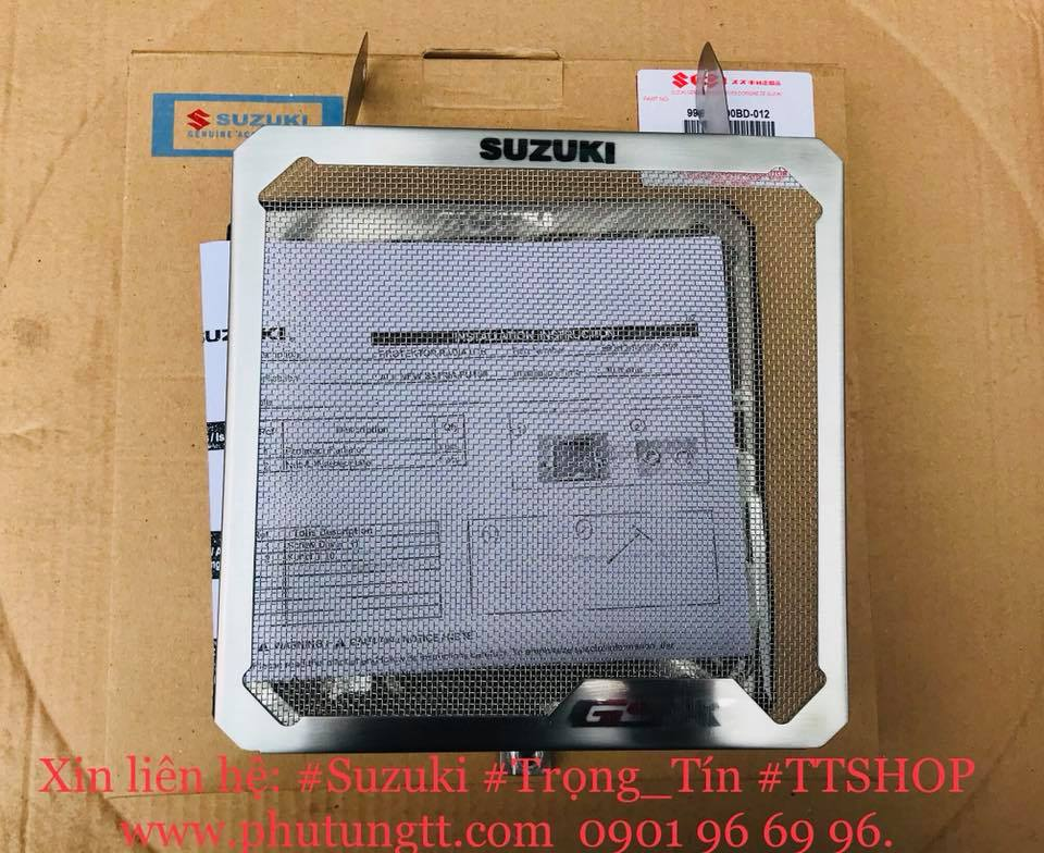 Miếng che bảo vệ két nước chính hãng cho Suzuki GSX 150 Việt Nam