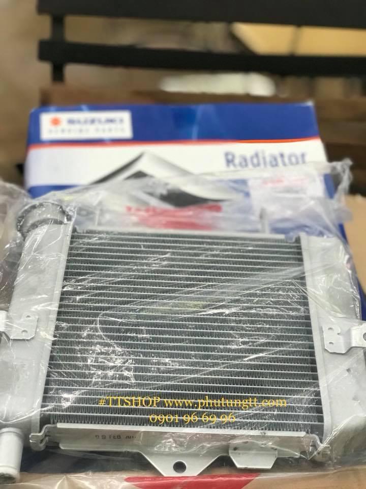 Két nước giải nhiệt zin chính hãng suzuki Satria Fi Indonesia thay thế cho raider Fi Việt Nam