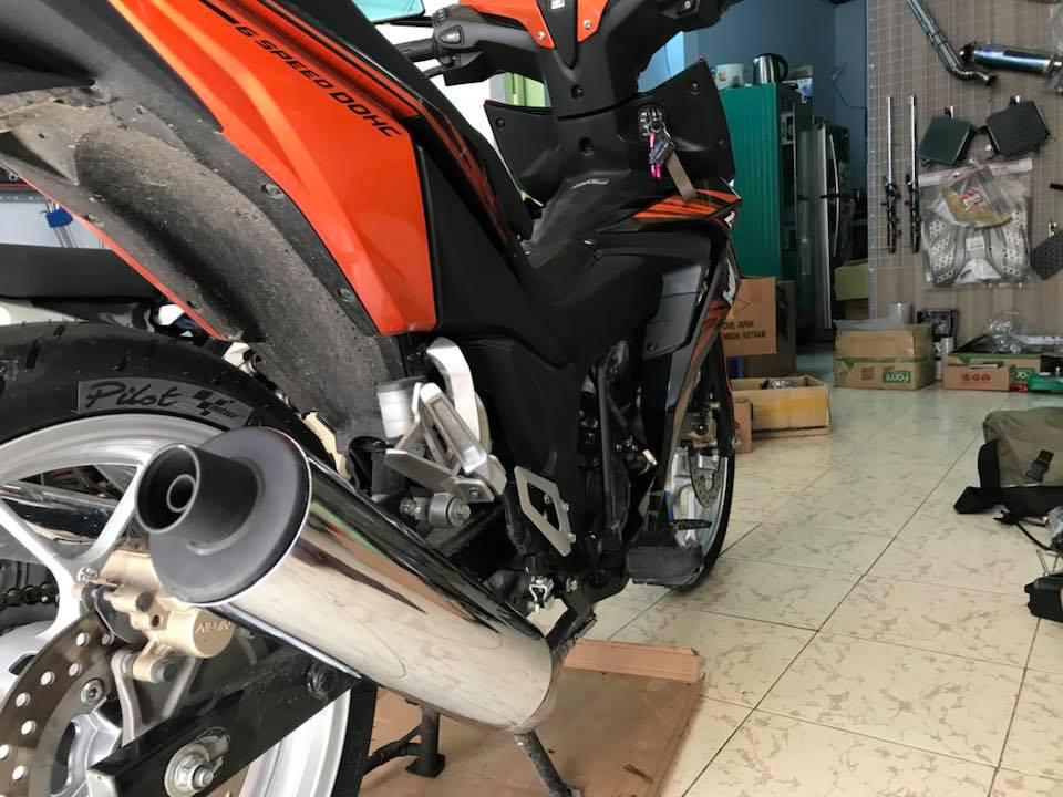 Lon po honda CBR 150cc 2015 fi gắn cho Honda winner 150cc Việt Nam