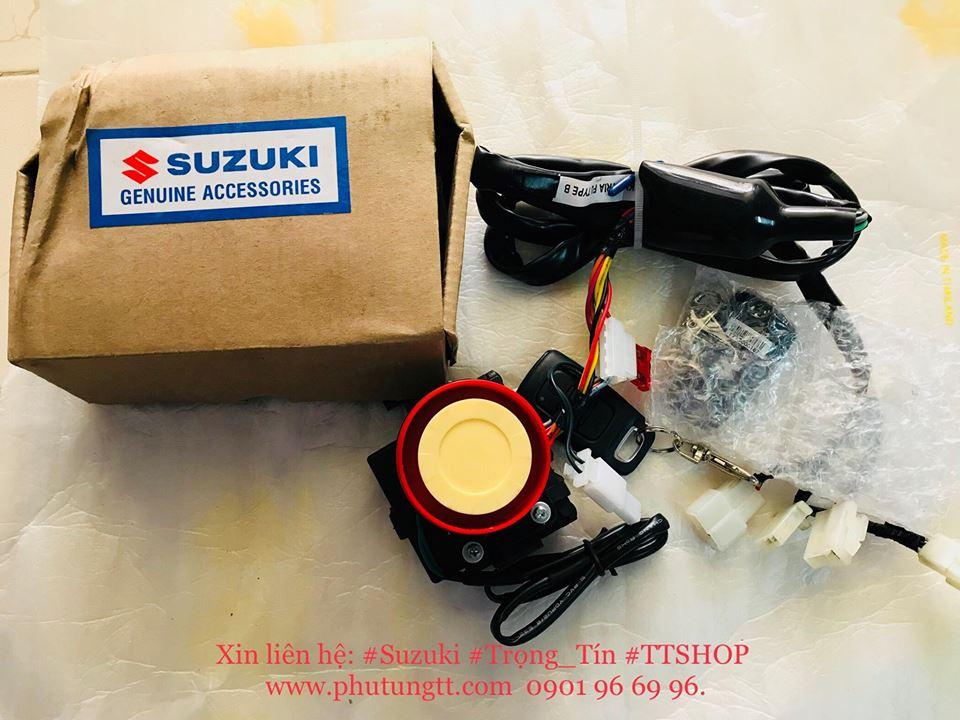 Bộ chống trộm Suzuki Satria Fi cho Raider FU - Fi Việt Nam