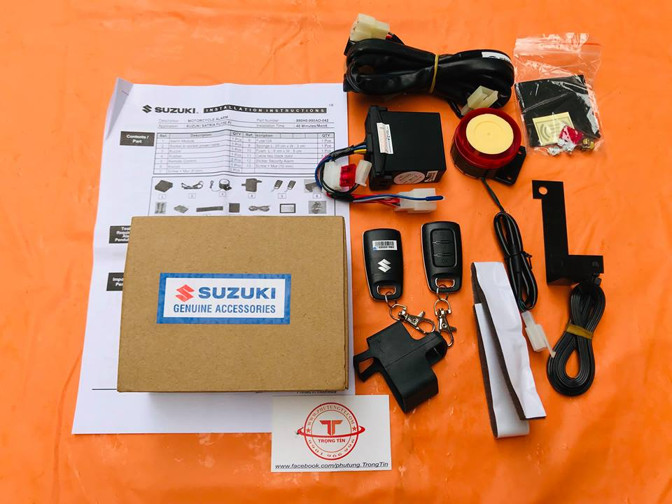 Bộ chống trộm xe máy Suzuki Satria Fi cho Raider FU - Fi Việt Nam