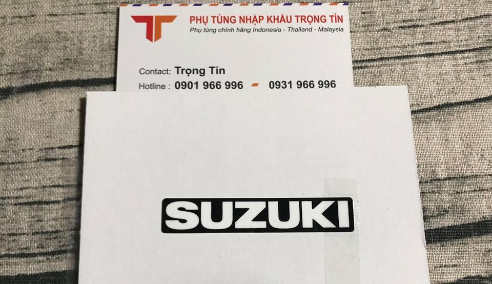 Tem logo Fi dán đầu đèn Suzuki Satria – Raider Fi