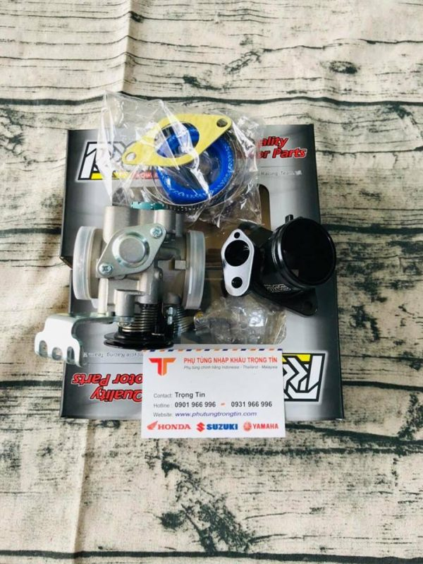 Họng xăng RRGS cho Suzuki Satria - Raider - Exciter - Honda Winner